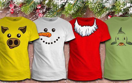 Veselá vánoční trička