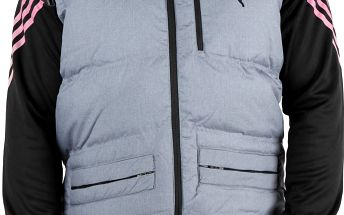 Pánská prošívaná, péřová vesta Puma vel. L
