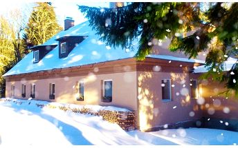 3–4denní pobyt se saunou pro 2–6 osob v chatě Marion v Jeseníkách