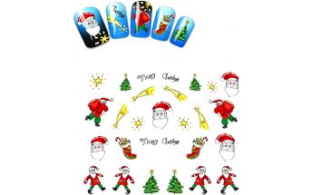 Samolepky na nehty - Vánoční edice