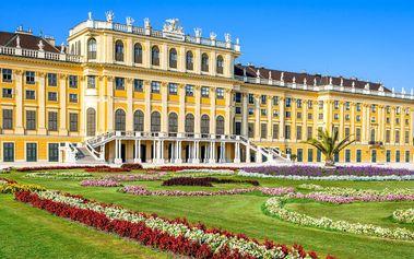 Koncert filharmoniků ve Vídni a zámek Schönbrunn