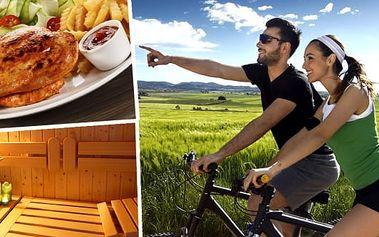 Naplánujte si již nyní vaši dovolenou. Jaro nebo léto na Šumavě v hotelu Salivar s polopenzí pro 2 osoby na 3, 4 nebo 6 dní. Dále je pro vás přichystána odpolední káva nebo čaj, privátní vstup do sauny a pro děti dětský koutek. Ideální dovolená pro nadšen