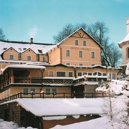 Pobyt v Krkonoších v Hotelu Arnika s polopenzí, vstupem do relax centra a platností až do 30. 6. 2017
