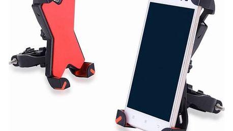 Držák mobilního telefonu na řidítka kola nebo motorky
