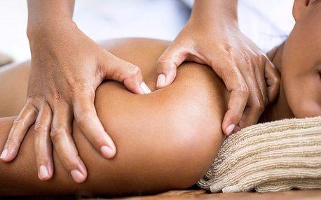 45minutová relaxační masáž zad a šíje
