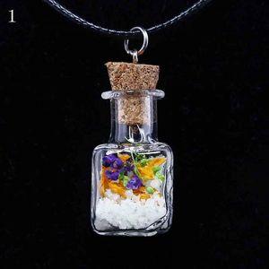 Náhrdelník s lahvičkou - 8 tvarů