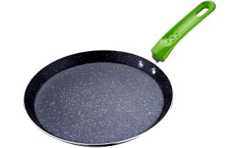 Pánev na palačinky s mramorovým povrchem 24 cm zelená RENBERG RB-1063zele