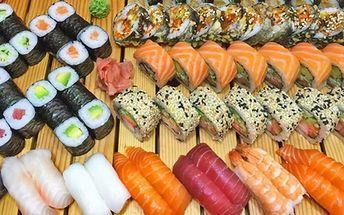 Skvěle namíchané sushi sety v King Sheng