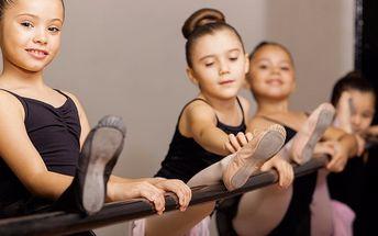 Lekce v baletní školičce pro holčičky do 5 let