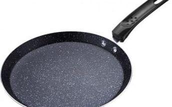 Pánev na palačinky s mramorovým povrchem 24 cm černá RENBERG RB-1063cern