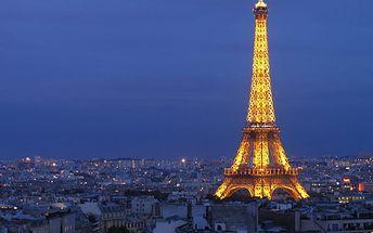 2290 Kč za zájezd do aprílové Paříže 30.3 - 2.4.2017. Cena včetně dopravy a noclehu