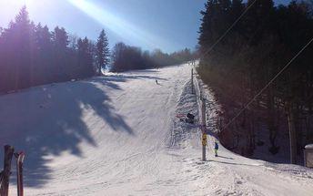 Zimní relax a lyžování v krásné přírodě Javorníků