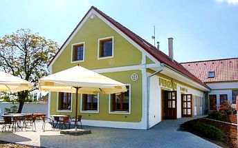 3denní pobyt se snídaněmi a pizzou pro 2 v jižních Čechách v penzionu Blanský les