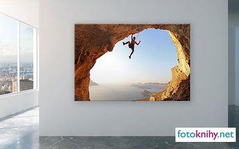 Fotoobraz z vašich vlastních fotografií napnutý na dřevěném rámu ve 3 rozměrech