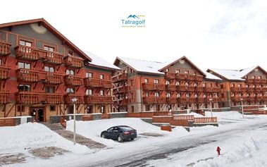 Zimní dovolená pro celou rodinu v apartmánovém komplexu Tatragolf Mountain Resort****