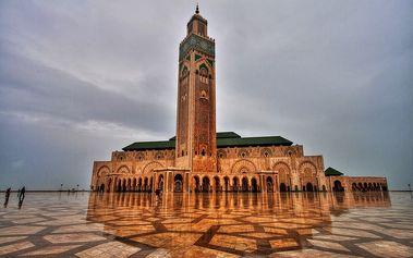 Luxusní Maroko: letecký poznávací zájezd na 8 dní pro 1 osobu se snídaněmi, akce SENIOR 50+