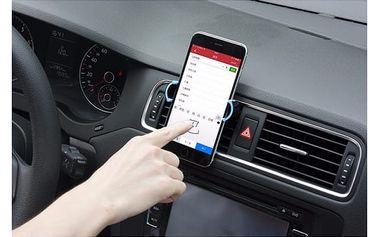 Univerzální držák mobilního telefonu do mřížky větráku - dodání do 2 dnů