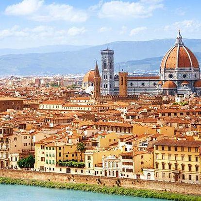 Florencie, Řím, Vatikán vč. dopravy a ubytování