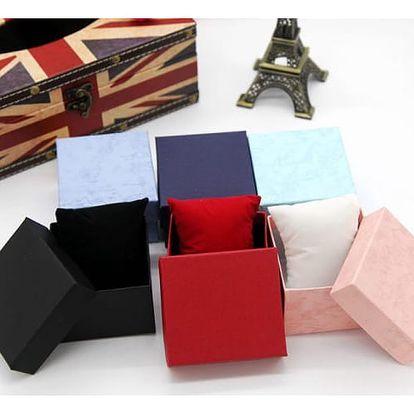 Dárková krabička na šperky a hodinky