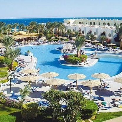 Silvestr u moře: Egypt - Hurghada na 8 až 9 dní, all inclusive s dopravou Bratislavy nebo letecky z Prahy