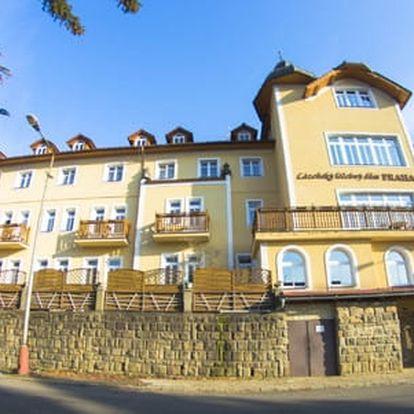 Lázeňský pobyt v Luhačovicích na 3 dny s polopenzí, neomezeným vstupem do bazénu a možností lázeňských procedur