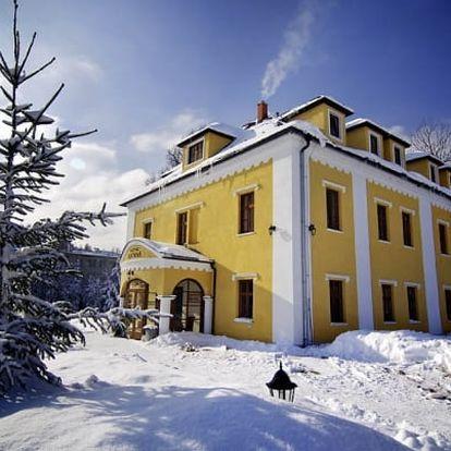 Vysoké Tatry v zámečku s wellness