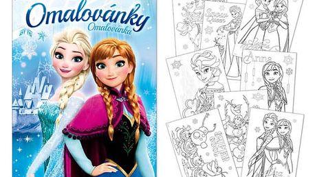Omalovánky - Ledové království (Frozen) - dodání do 2 dnů
