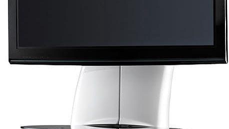 Meliconi 488066 GHOST DESIGN 2000 Držák a stolek pro TV, bílá + Zdarma Meliconi C-35 P Čisticí sprej 35 ml + utěrka z mikrovlákna + štěteček, k čištění (v ceně 139,-)