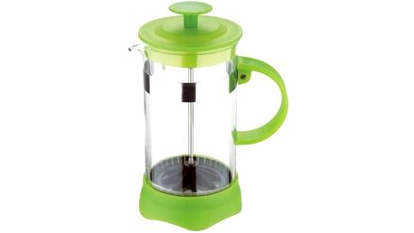 Konvička na čaj a kávu French Press 350 ml zelená RENBERG RB-3107zele