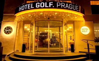 3denní wellness pobyt se snídaní pro 2 v hotelu Golf*** v Praze