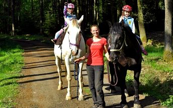 Projížďka na koni pro malé i větší děti