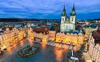 2–4denní pobyt pro 2 osoby v pensionu Akát v Praze se snídaněmi