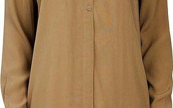 šaty BENCH - Hypothetical Dark Brown (KH023)