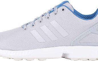 Šedé unisex tenisky adidas Originals ZX Flux