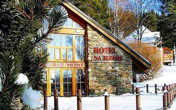 Zimní Lipno pro 2 s možností lyžování v Rakousku