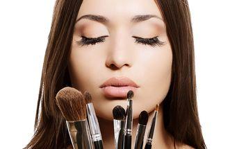 Kurzy líčení na 2 nebo 4 hodiny. Make-up pro běžný den či slavnostní příležitost