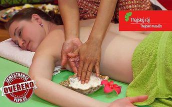 Výběr masáží a rybičky Garra Rufa v několika pražských salonech Thajský ráj