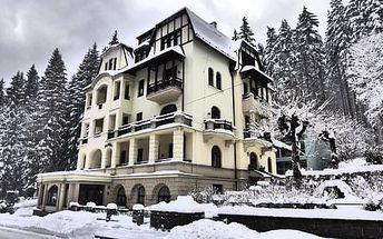 Spa & Wellness Hotel St. Moritz**** s neomezeným vstupem do wellness a polopenzí pro oba