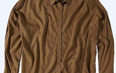 košile BENCH - Aristocratic B Dark Brown (KH023) velikost: XS