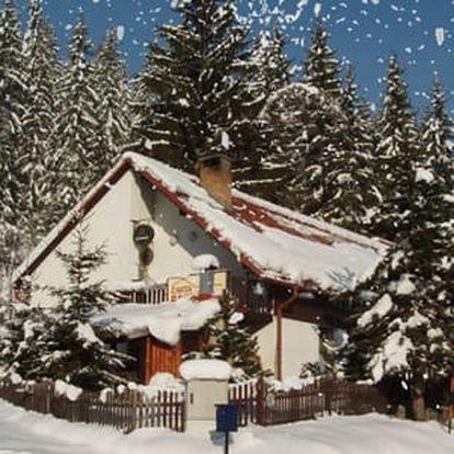 Zimní pobyt na Horní Bečvě s polopenzí pro 2 osoby