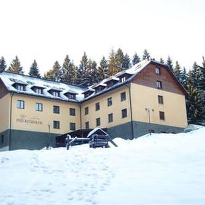 Oceněný hotel Pod Kyčmolem **** s neomezeným vstupem do wellness a gurmánskou polopenzí pro 2 osoby