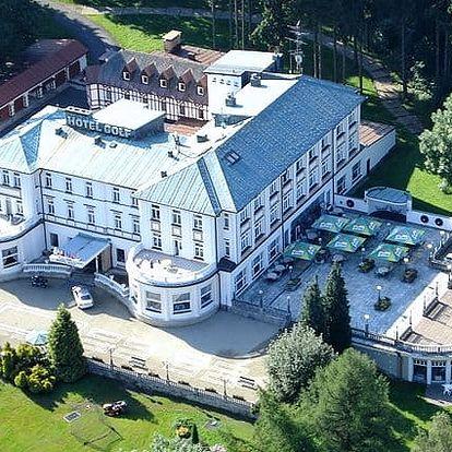 3–6denní lázeňský pobyt pro 1 nebo 2 osoby v Mariánkách v Parkhotelu Golf