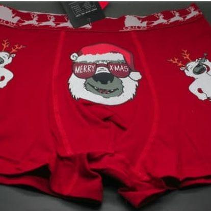 Veselé pánské boxerky Christmas time