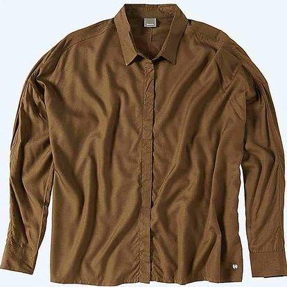 košile BENCH - Aristocratic B Dark Brown (KH023) velikost: S