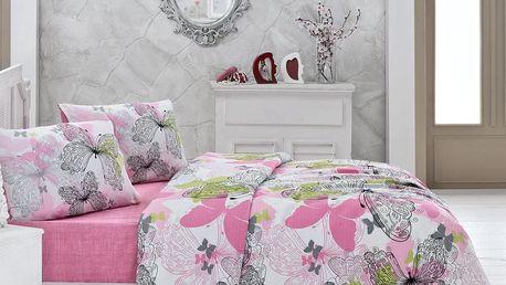 Lehký přehoz přes postel Belinda, 200 x 230 cm