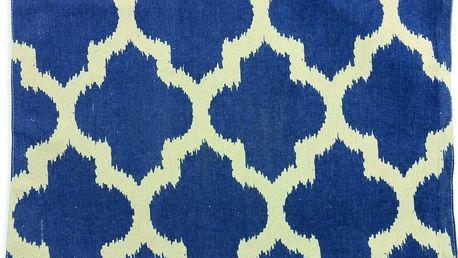 Prostírání Mosaic Lino Blue, 33x48 cm