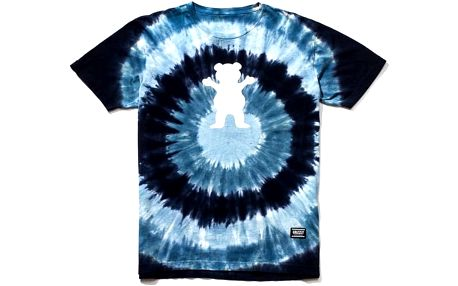 triko GRIZZLY - Eclipse Tie-Dye Blue (BLU)
