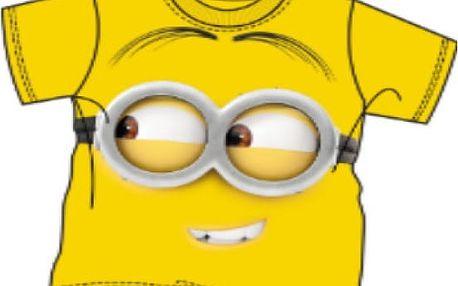 Dětské žluté tričko Mimoni