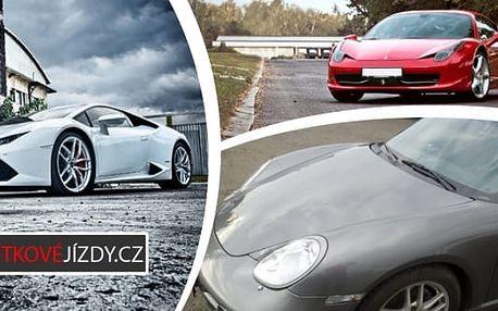 Nezapomenutelná jízda v nejrychlejších autech světa v běžném provozu jako řidič nebo spolujezdec. Svezte se ve Ferrari, Lamborghini nebo Porsche a užijte jedinečný zážitek na který budete dlouho vzpomínat.