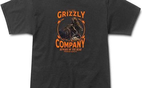 triko GRIZZLY - Bear Brawl Black (BLK)